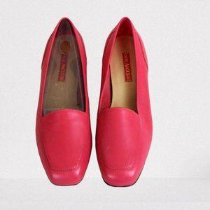Enzo Angiolini salmon pink flats 9.5M women's